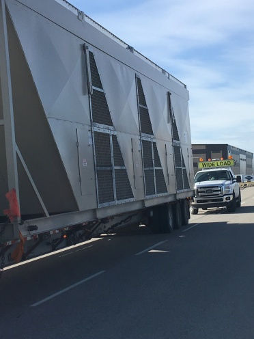 Working with Tenacious Custom Carriers on the way to Calgary