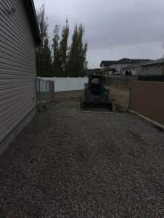 From redneck packing to a little yard scape